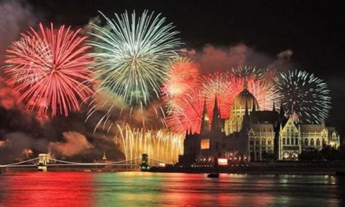 Новый год в БУДАПЕШТЕ.