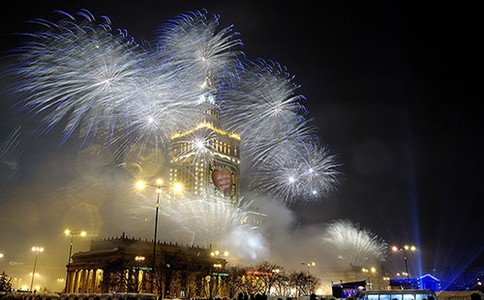 Новогодние огни КРАКОВА.